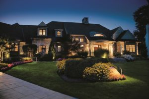Landscaping design and landscaping led lighting